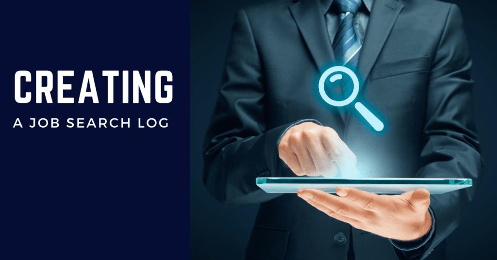 Creating a Job Search Log