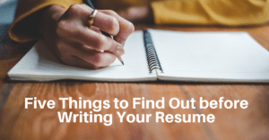 Answer These Questions before Writing Your Resume