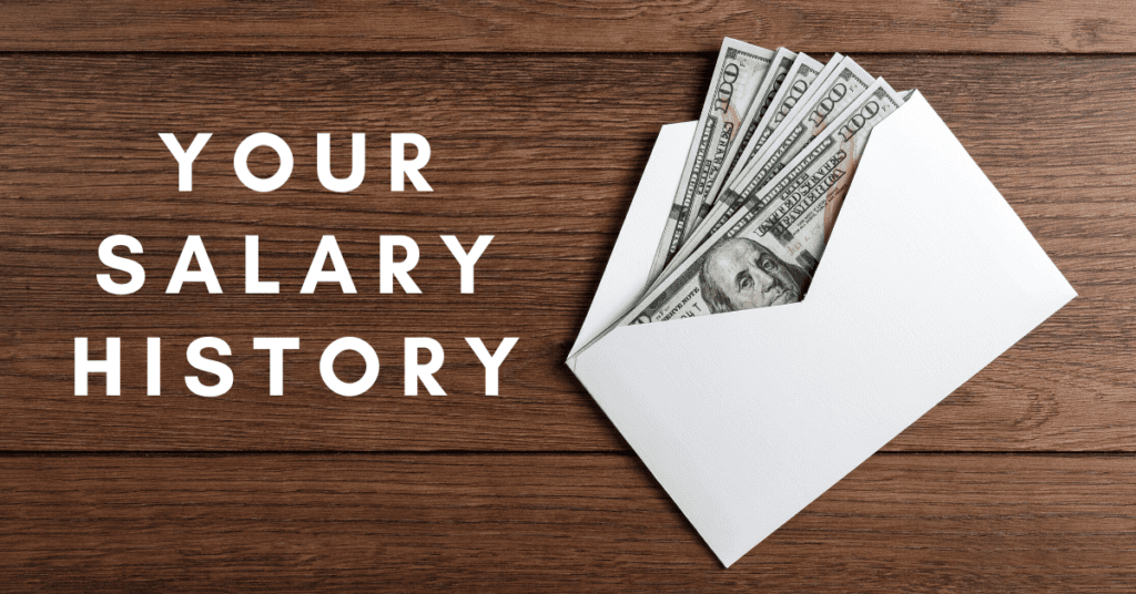 Your Salary History