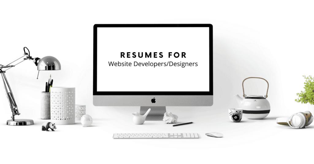 Resumes for Website Developers_Designers